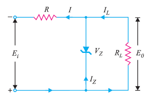 zener diode as voltage stabilizer
