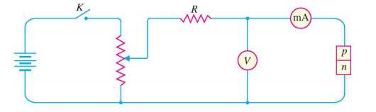 circuit for vi characteristics of pn junction diode