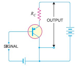 common collector pnp circuit