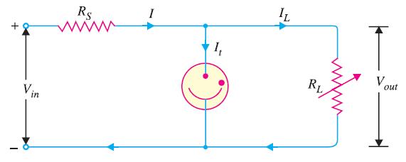 Circuit Diagram of Glow Tube Voltage Regulator