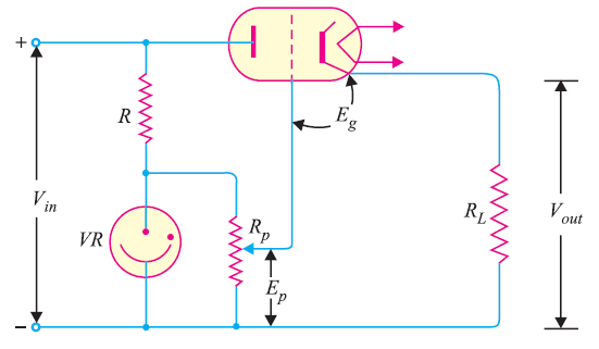 Series Triode Voltage Regulator