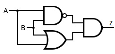 equivalent circuit of ex-or gate1