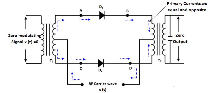 equivalent circuit 1 of ring modulator