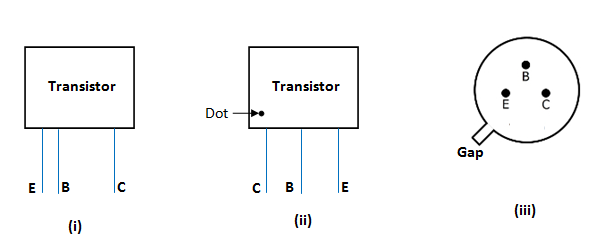 transistor lead identification