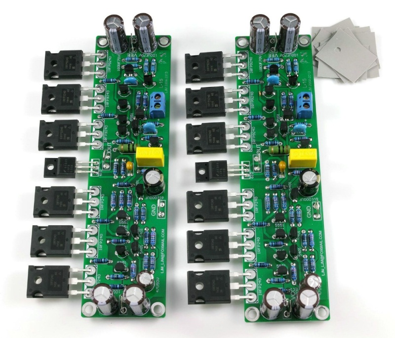 MOSFET Amplifier - Electronics Post