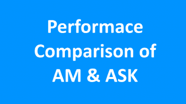Performance Comparison of AM and ASK