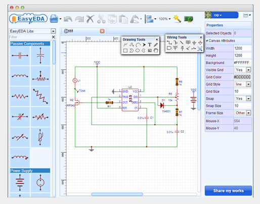 PCB designing software