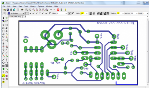 pcb design software eagle
