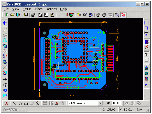 pcb design software zenitpcb