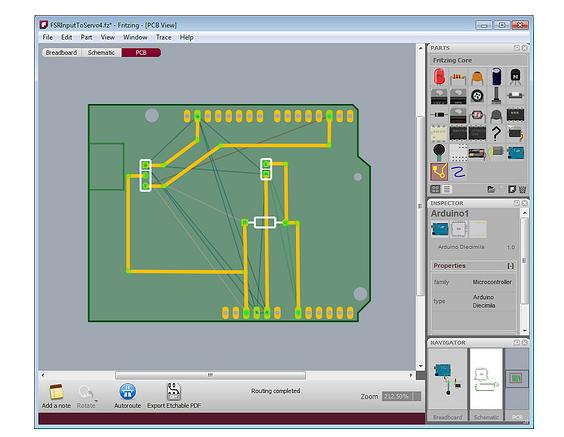 pcb design tool fritzing